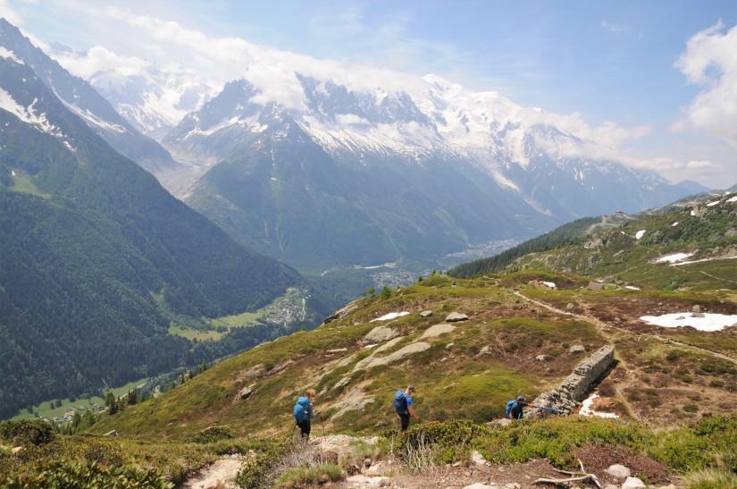 Vandring i Chamonix,Frankrike